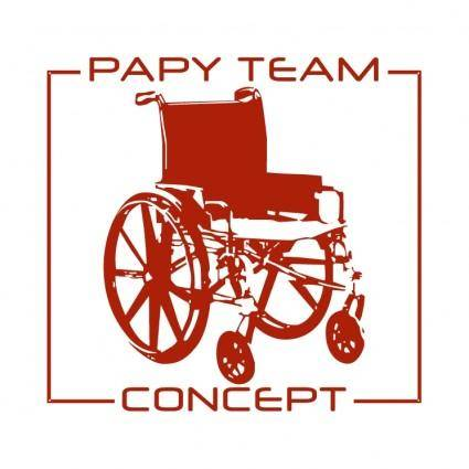 Papy team concept