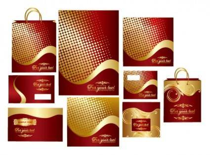 free vector Bag envelope vector