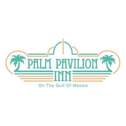 free vector Palm pavilion inn