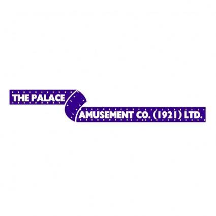 Palace amusement company