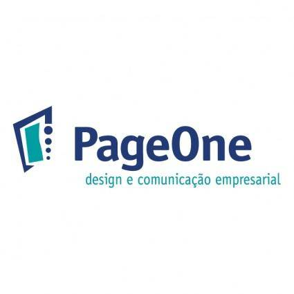 free vector Pageone