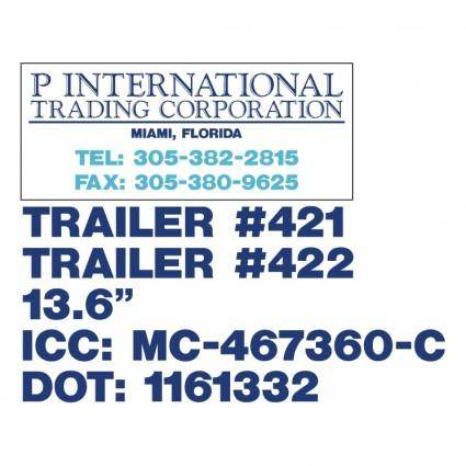 P international trading corporation