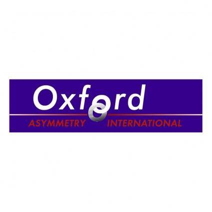 Oxford asymmetry international