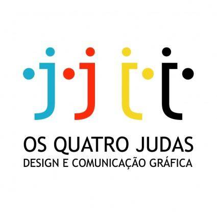 free vector Os quatro judas
