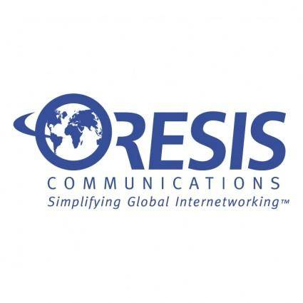 free vector Oresis communications