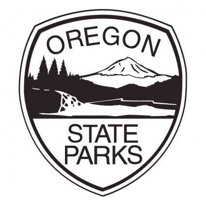 free vector Oregon state parks