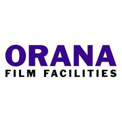 free vector Orana film facilities