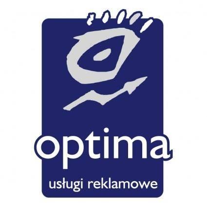 free vector Optima reklama