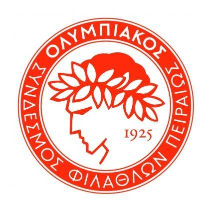 free vector Olympiacos fc