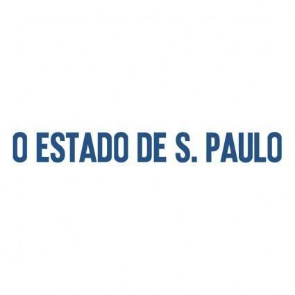 free vector O estado de sao paulo