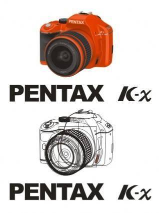 free vector Vector pentax pentax kx original