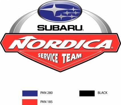 free vector Nordica service team