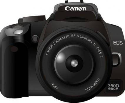 free vector Canon350d camera vector