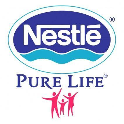 free vector Nestle pure life