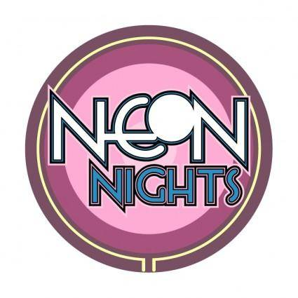 free vector Neon nights
