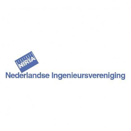 free vector Nederlandse ingenieursvereniging