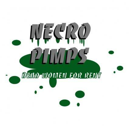free vector Necro pimps