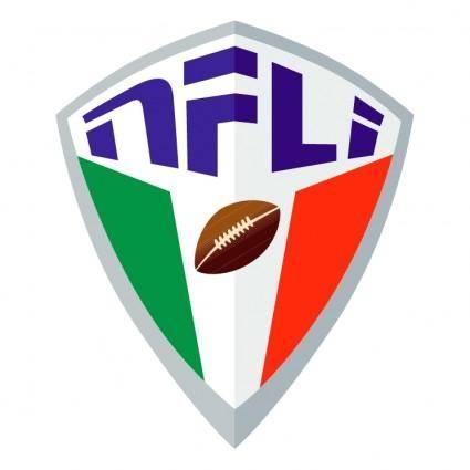 free vector National football league italy