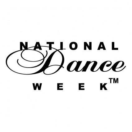 free vector National dance week
