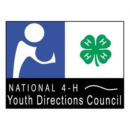 free vector National 4 h youth directions council