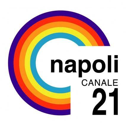 free vector Napoli canale 21