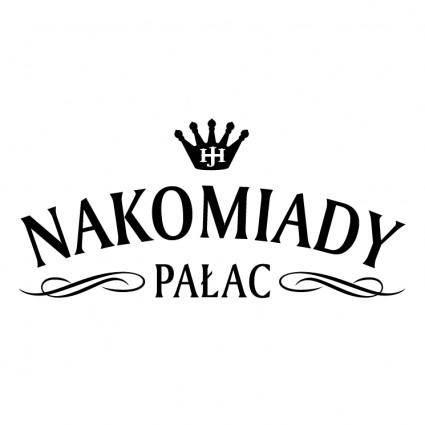 free vector Nakomiady palac