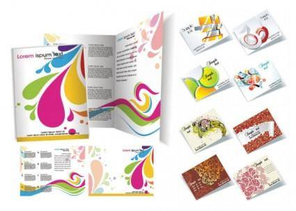 free vector Brochure template vector