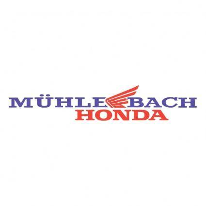 free vector Muhle bach honda