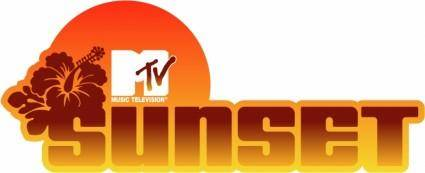 free vector Mtv sunset