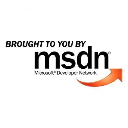 free vector Msdn 1