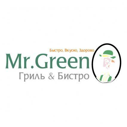 free vector Mr green
