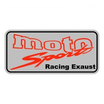 Moto sport racing exaust 0