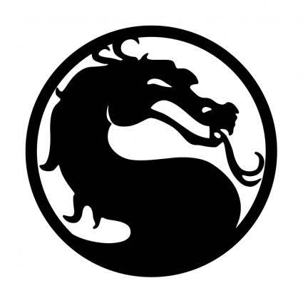 mortal kombat logo tattoo