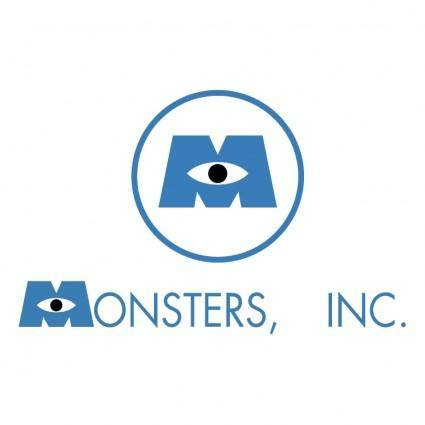 free vector Monster inc