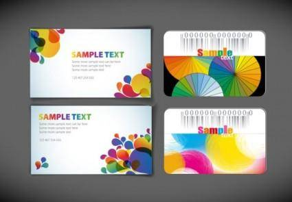 free vector Symphony card template vector