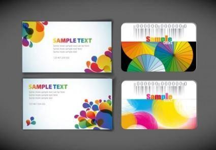 Symphony card template vector