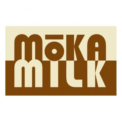 free vector Moka milk