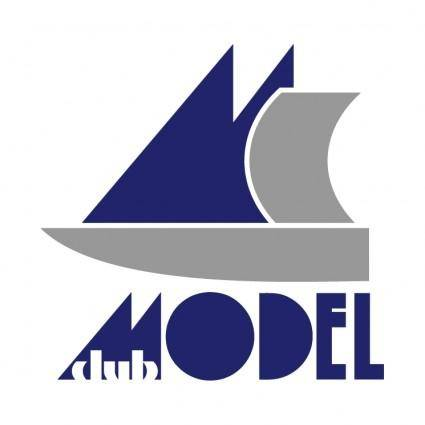 free vector Model club