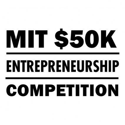 free vector Mit 50k entrepreneurship competition