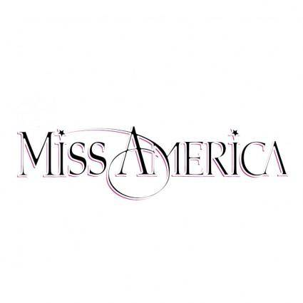 Free Vector Miss America