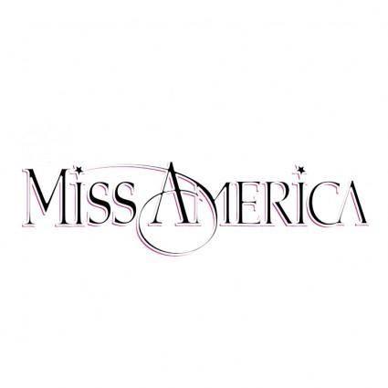 free vector Miss america