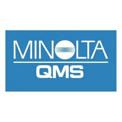 free vector Minolta qms 0
