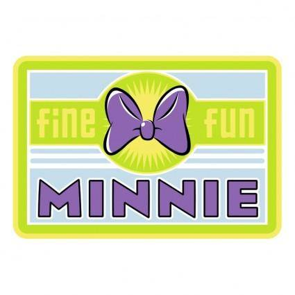 free vector Minnie mouse 6