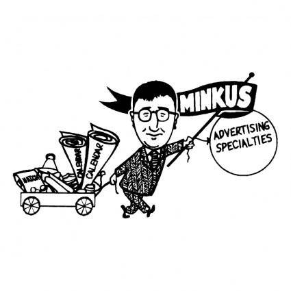 free vector Minkus advertising specialties