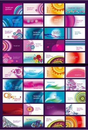 Classic 40 kinds of cards and the trend vector