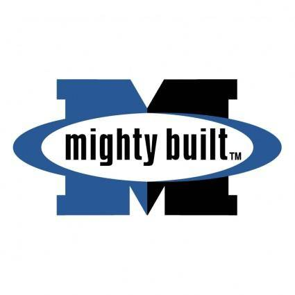 free vector Mighty built