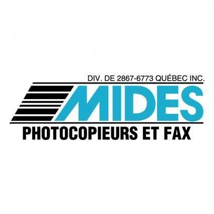 Mides photocopieurs et fax