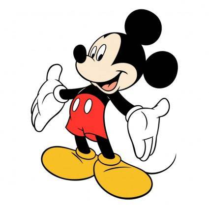 free vector Mickey mouse 2