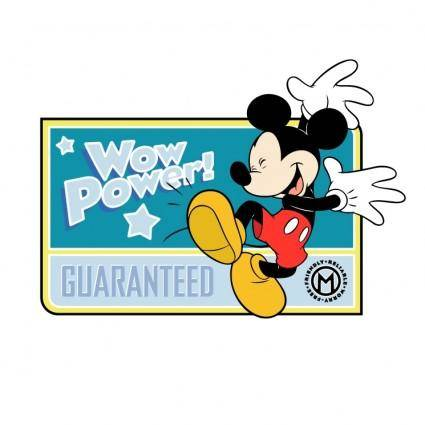 free vector Mickey mouse 18