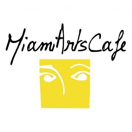 free vector Miami arts cafe